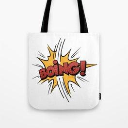 Boing ! Tote Bag