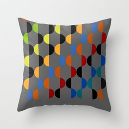 Abstract Composition 401 Throw Pillow