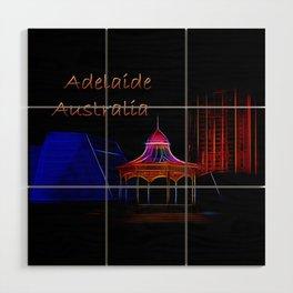 Electrified Adelaide Wood Wall Art
