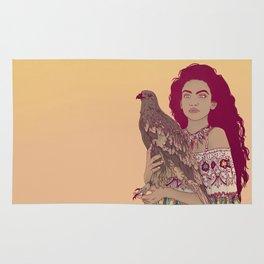 Falcon Lady Rug