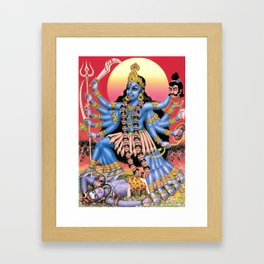 Kali-Ma Framed Art Print
