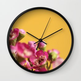 016 Flower Wall Clock