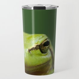 It's not Easy Being Green! (Tree Frog Close up) Travel Mug
