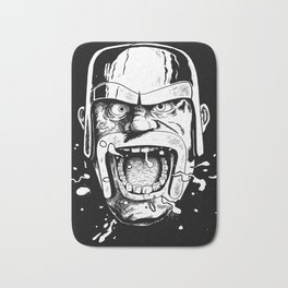 Barbarian Game Face Bath Mat