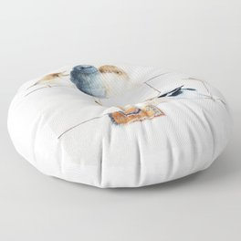 The Peeps Floor Pillow