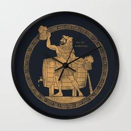 Call ME Beercules Wall Clock