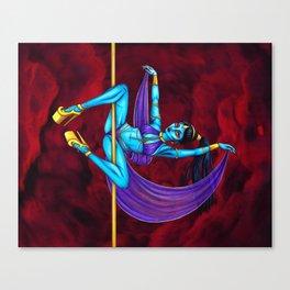 Pole Creatures - Genie Canvas Print