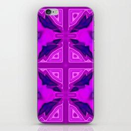 Softly lilac ornamentation iPhone Skin