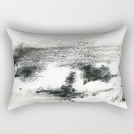 Black/white#2 Rectangular Pillow
