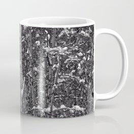Snowy Abstract Coffee Mug
