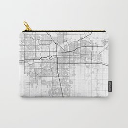 """Minimal City Maps - Map Of Bakersfield, California, United States Carry-All Pouch"