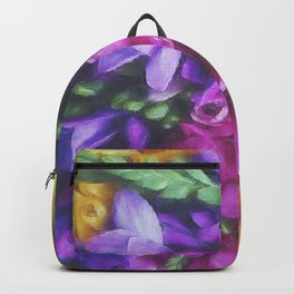 Freesias Backpack
