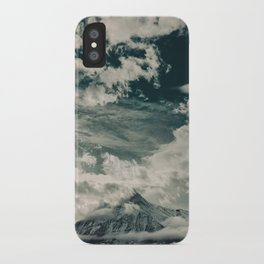 Cloud Mountain in the Canadian Wilderness iPhone Case