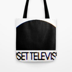 Sunset Television Logo Tote Bag