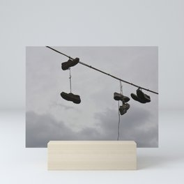 Shoes In The Air Mini Art Print