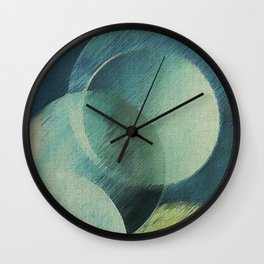 The Phases of the Blue Moons Wall Clock