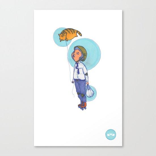Topaz Dreaming. Canvas Print