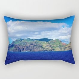 Kauai's Bright Welcome Rectangular Pillow