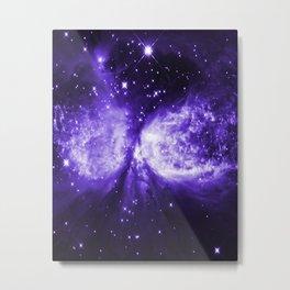 Star Angel Ultra-Violet Metal Print
