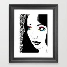 Pavlov's Daughter Framed Art Print