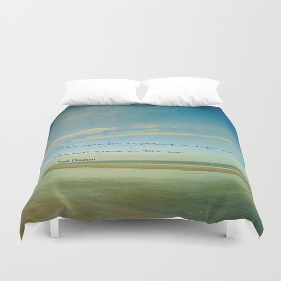 Sea Shore Duvet Cover