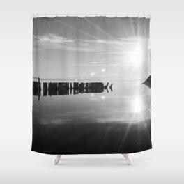 Salton Sea 8 Shower Curtain