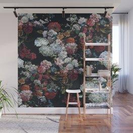FLOWERS FLOWERS FLOWERS ... JUST FLOWERS (FLORAL) Wall Mural