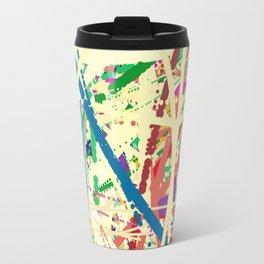 An Homage to Pollock Travel Mug