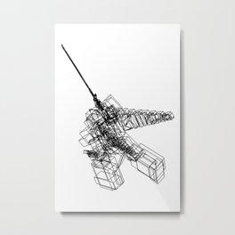 GIANTROBO Metal Print