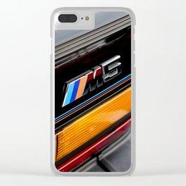 Original m5 Clear iPhone Case