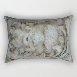 Wall in Vizcaya Rectangular Pillow