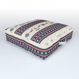 Let's Go Sailing Outdoor Floor Cushion