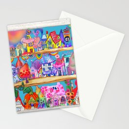 doll house shop the Stationery Cards