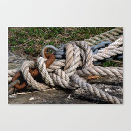 Ropes Canvas Print