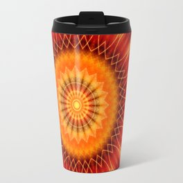 Mandala geometry Travel Mug