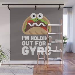 Tzatziki and Ye Shall Find Wall Mural