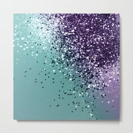 Mermaid Glitter Dream #1 #shiny #decor #art #society6 Metal Print