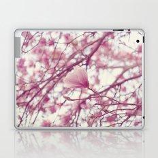 under the magnolia tree Laptop & iPad Skin