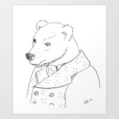 Boris Art Print