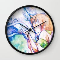 spirited away Wall Clocks featuring Spirited Away by Vouschtein