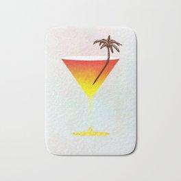 Rum Cocktail Bath Mat
