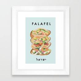 Falafel Poster  Framed Art Print