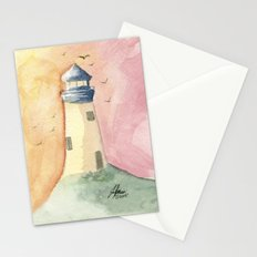 Lighthouse Impressions III Stationery Cards