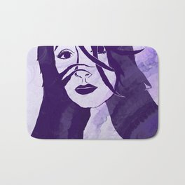 Purple Girl Bath Mat