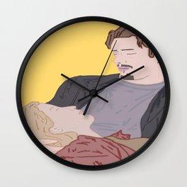 Before Sunrise Wall Clock