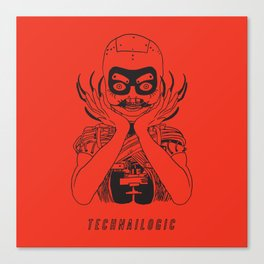 Technailogic Canvas Print