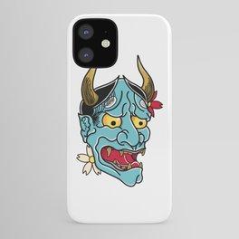 Hannya Mask iPhone Case