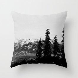 Sombre Throw Pillow