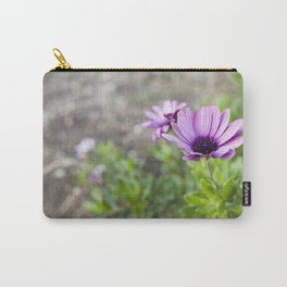Osteospermum in Purple Carry-All Pouch