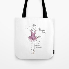 Nutcracker Ballerina Tote Bag